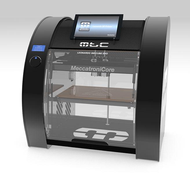 3D-printer-meccanitrocore-leonardo-300-evo-line-perspective
