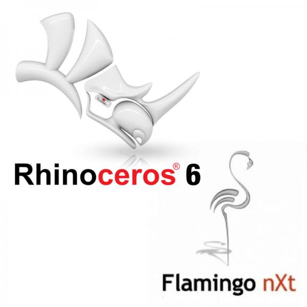 rhino+flamingo