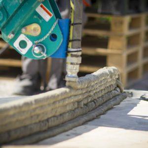 imprimanta de beton