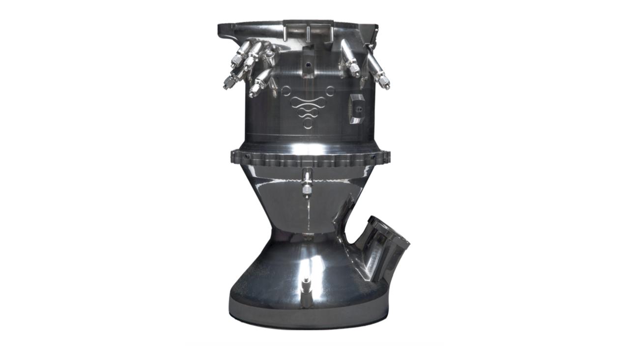 motor racheta 3D